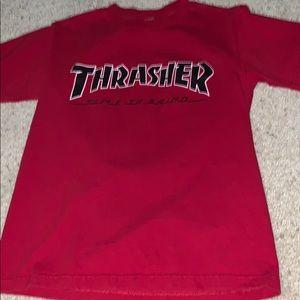 Red Thrasher T shirt